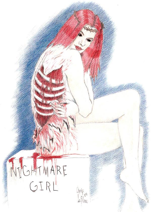 nightmare girl  by bonkey-666