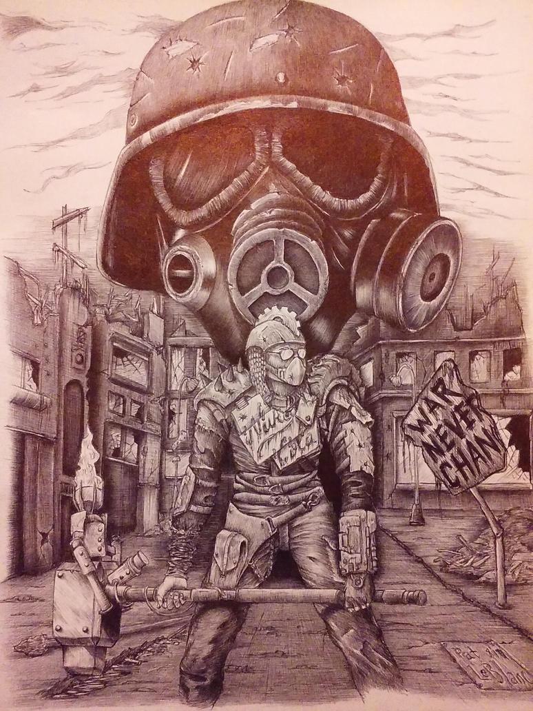 Fallout character by bonkey-666