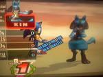 I beat Sonic in SSBB!