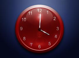 Photoshop Clock Design by jaredwilli