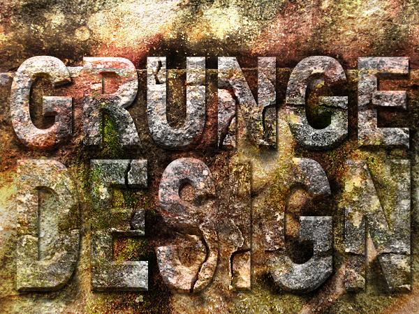 Grunge Text Effect by jaredwilli