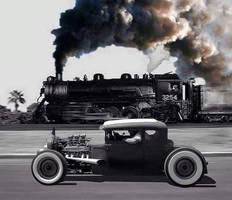 Car Vs. Locomotive