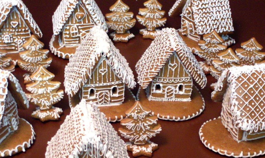 Gingerbread Village 2 by jitlen