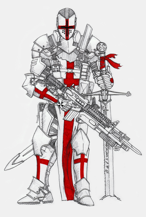 Knight Templar by The-SuicideKing on DeviantArt