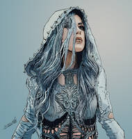 Alissa White-Gluz de Arch Enemy by DAMKREA
