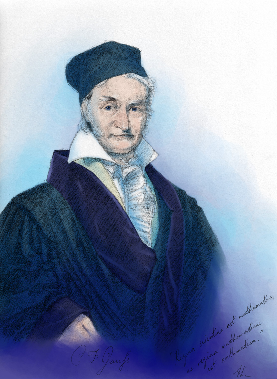 carl gauss Although he is best known as one of the greatest mathematicians of all time, carl friedrich gauss was also a pioneer in the study of magnetism and electricity.