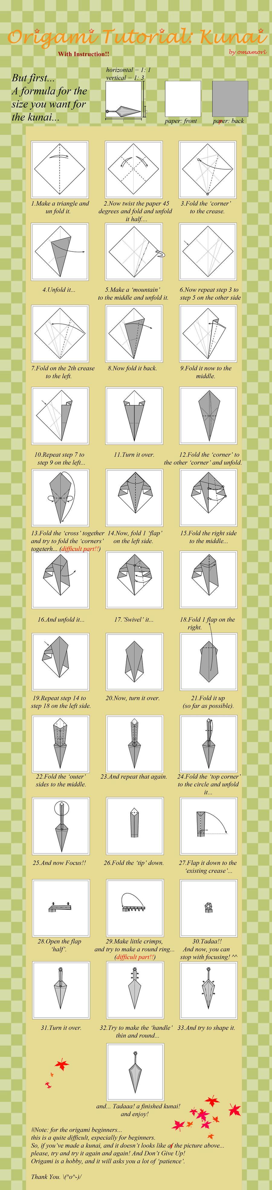 paper kunai Paper kunai tutorial - russian by sikarbi on deviantart paper kunai tutorial - russian by sikarbi on deviantart.