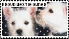 Westie Stamp by Morein