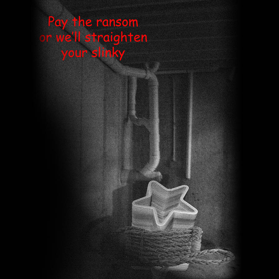 Slinky Ransom Note by Timbog77