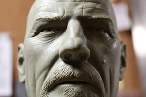 Heisenberg bust - detail 2