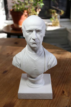 Larry David classical bust