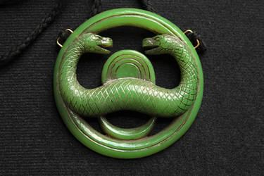 Thusla Doom Jade Medallion