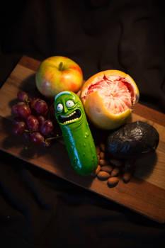 Pickle Rick Still Life
