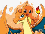 Charmander and Charizard Y