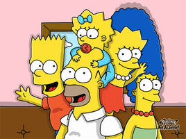 The Simpsons by 29steph5