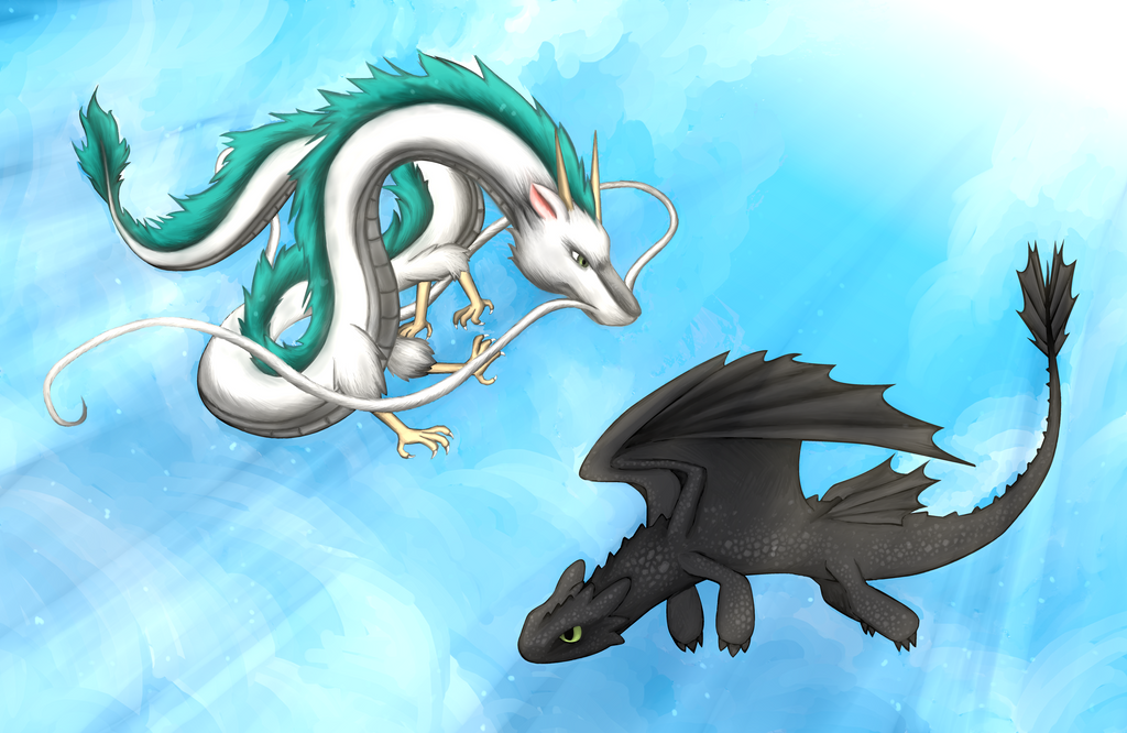Dragon haku йифф