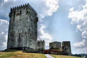 Montalegre Castle in Portugal
