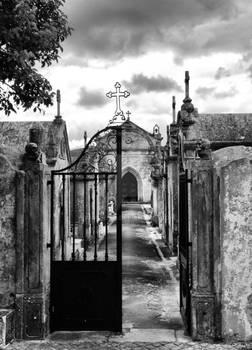 Cemetery of Porto de Mos, Portugal