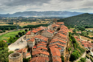 Old medieval town of Frias, Spain
