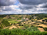 Countryside landscape of Porto de Mos, Portugal
