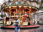 Carousel in Montmartre