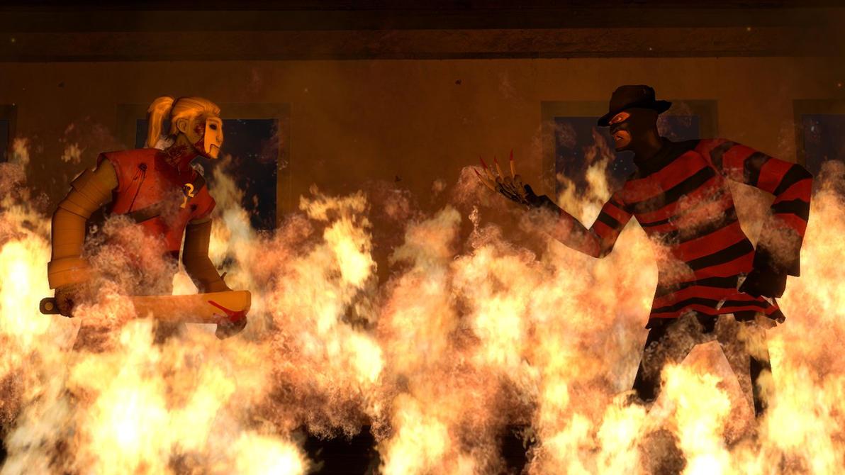 Team Killer VS Spy Krueger by Nilen1049