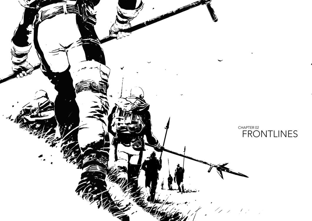 Frontlines by Marko-Djurdjevic