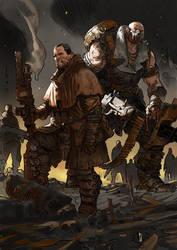 Nestor's Siege by Marko-Djurdjevic
