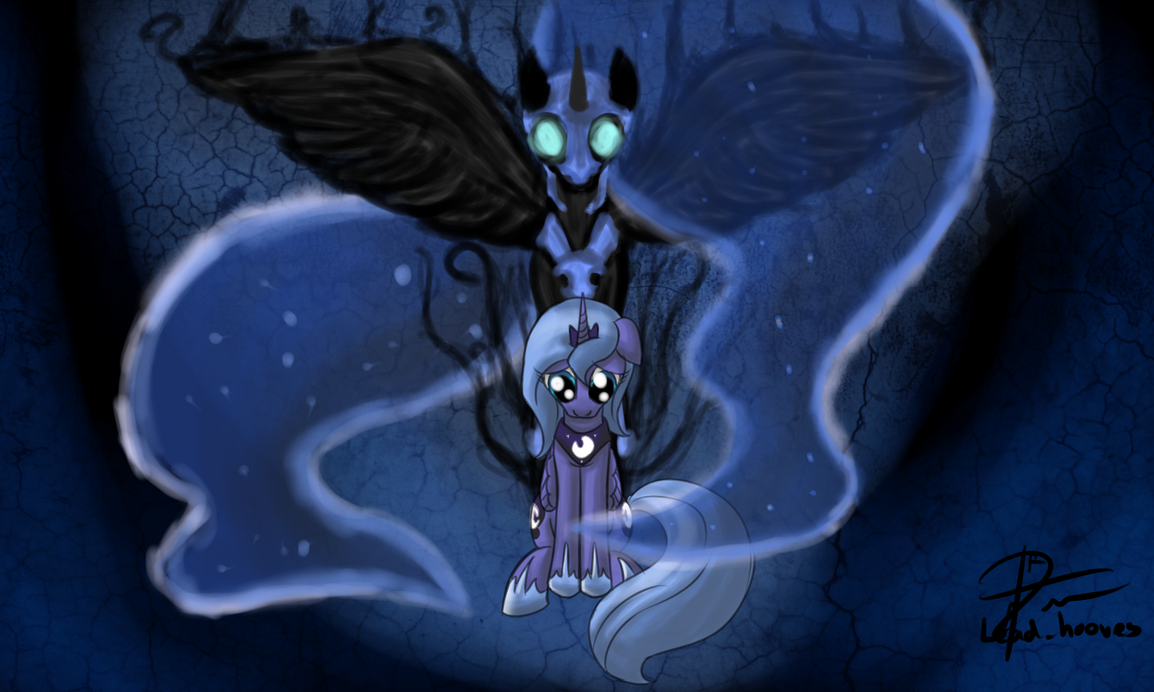 The Darkness by leadhooves
