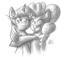 Hugs by leadhooves