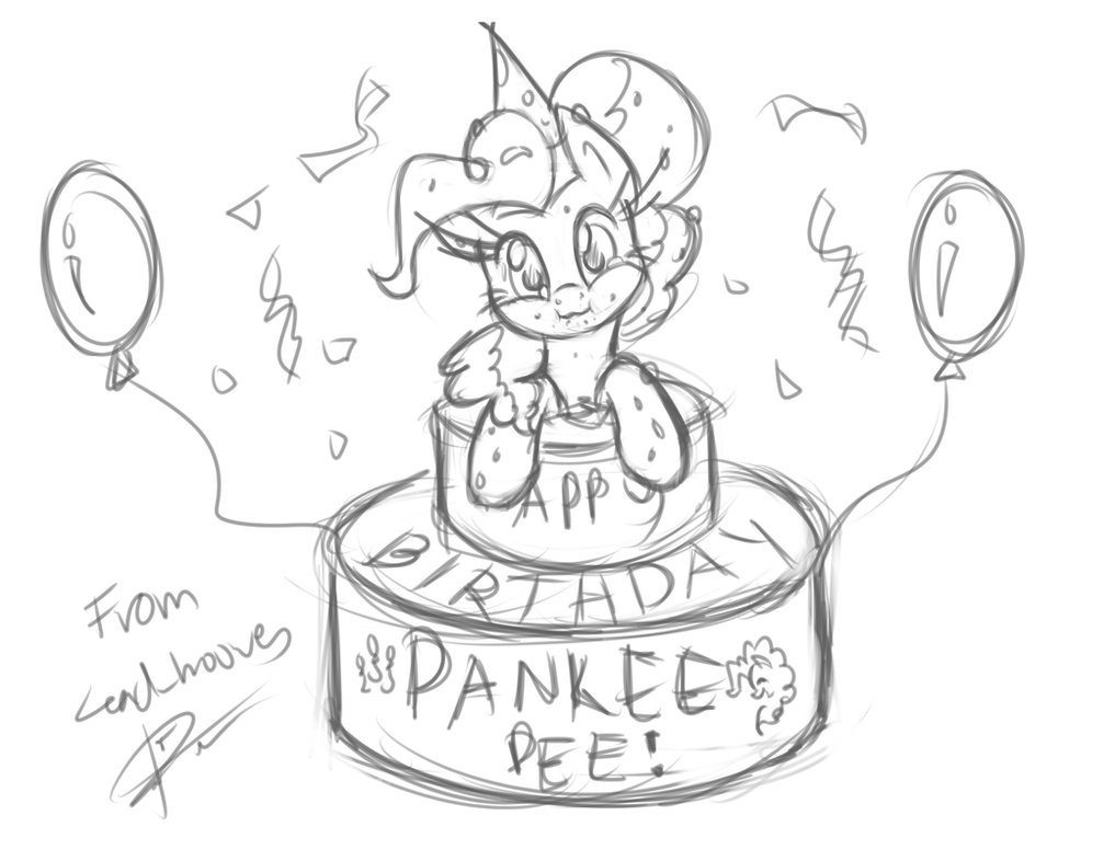 Pankee's Birthday by leadhooves