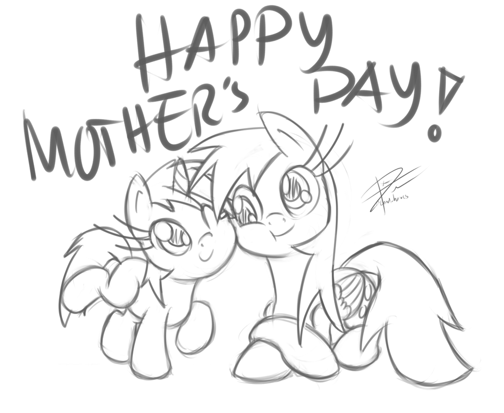 Mother's Day by leadhooves