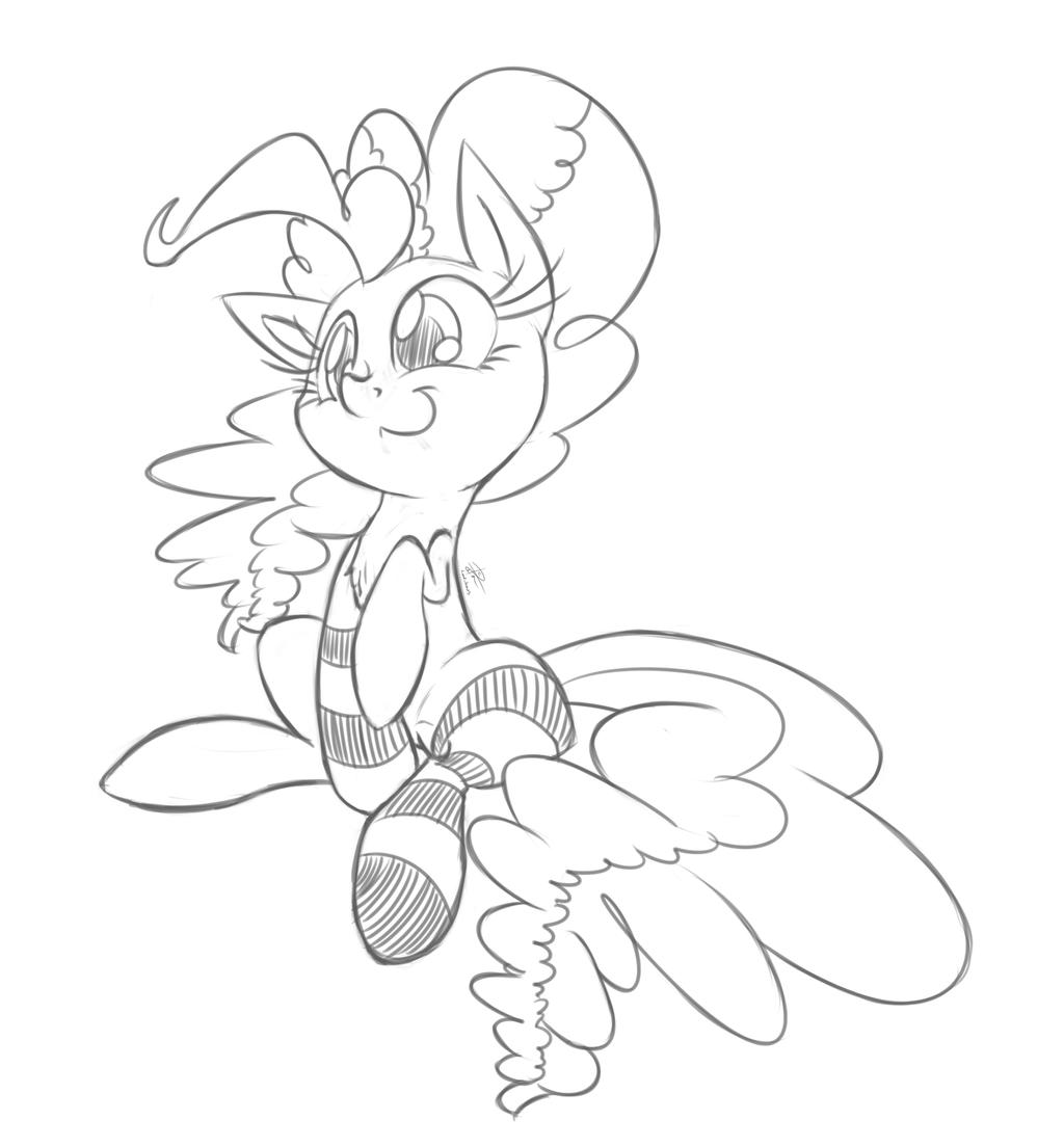 Pinkie Pone Sawks by leadhooves