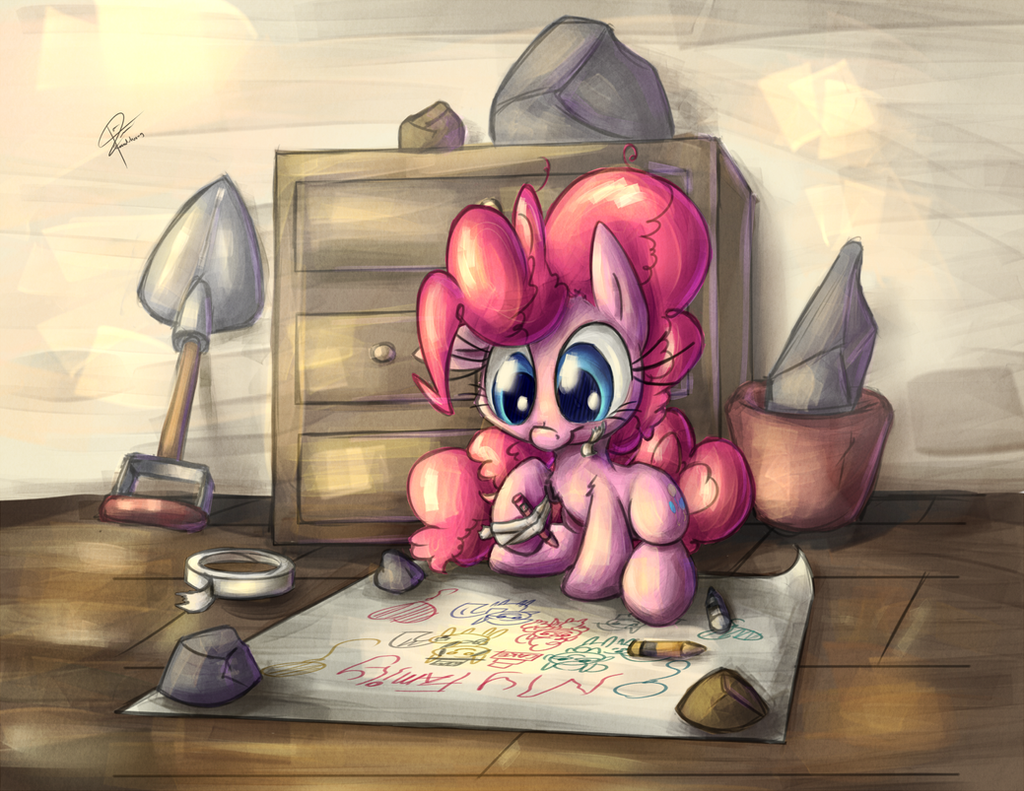 Filly Pinkie (PRINTS FOR SALE!) by leadhooves