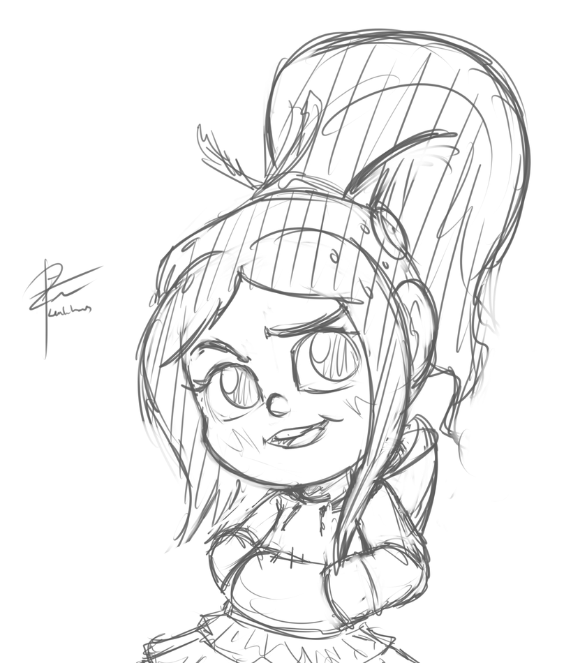 Moar Vanellope by leadhooves