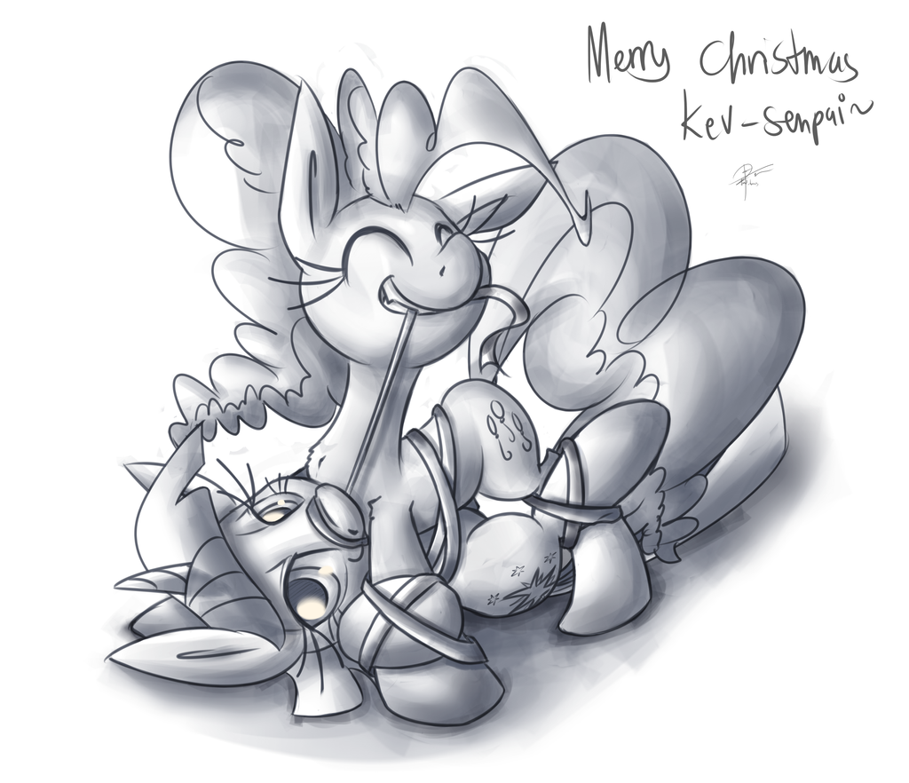 Merry Christmas Kev by leadhooves