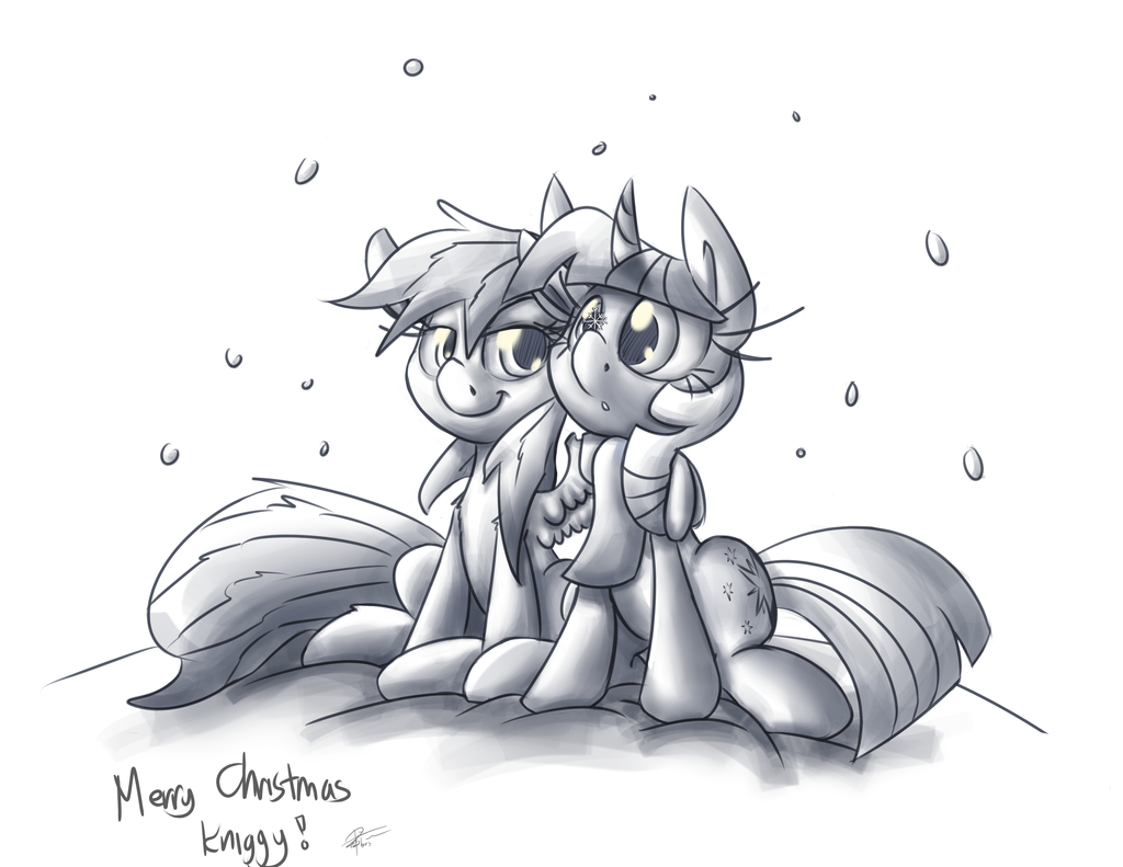 Merry Christmas Knighty by leadhooves