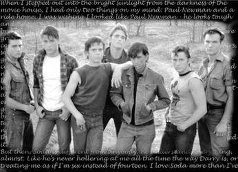 Random 'The Outsiders' BG by fullofmetal