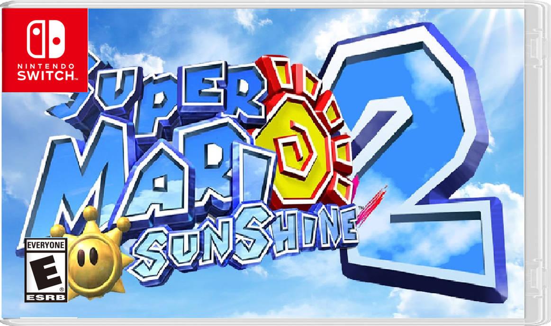 Super Mario Sunshine 2 - Nintendo Switch by SmashyBros on