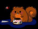 Nutella Squirrel
