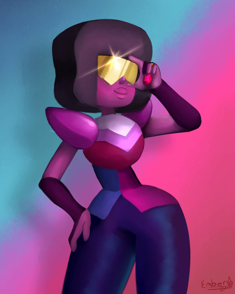 I will never like Garnet's star-shaped visor. It's just not gonna happen.