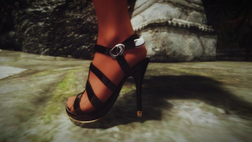 Skyrim - High Heel by Thezibaim ... - Skyrim - High Heel By Thezibaim On DeviantArt