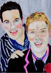 Colin McAllister + Justin Ryan by Gaia-Child3