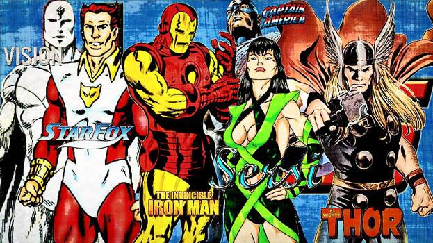 Avengers/Team # 61/April 1990/March 1991