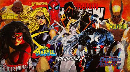 New Avengers/Team # 5/June 2010/ Aug. 2010