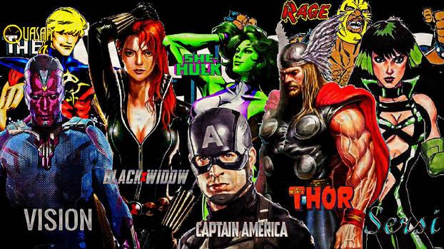 Avengers/Team#62/March 1991/Sept. 1991