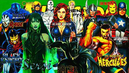 Avengers/Team #63/Sept. 1991/May 1992