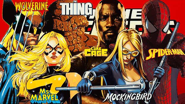 New Avengers/Series#2/Team#1/Aug.2010/Nov.2010