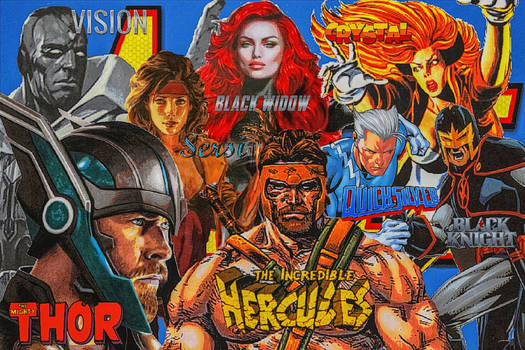 Avengers/Team# 65/August 1992/Sept.1993