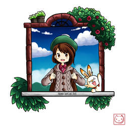 Pokemon Sword and Shield!!!!! by sakuratorte